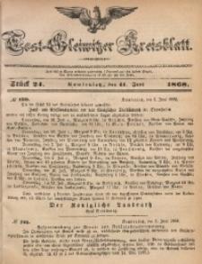 Tost-Gleiwitzer Kreisblatt, 1868, Jg. 26, St. 24