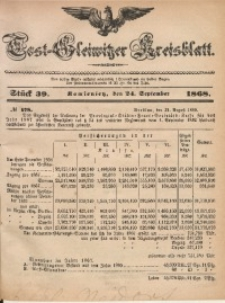 Tost-Gleiwitzer Kreisblatt, 1868, Jg. 26, St. 39