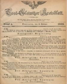 Tost-Gleiwitzer Kreisblatt, 1869, Jg. 27, St. 5