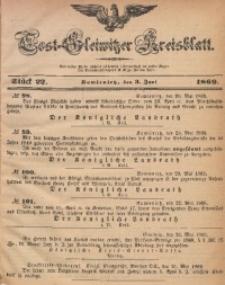 Tost-Gleiwitzer Kreisblatt, 1869, Jg. 27, St. 22