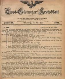 Tost-Gleiwitzer Kreisblatt, 1871, Jg. 29, St. 26