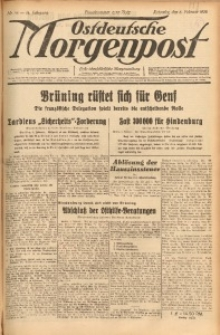 Ostdeutsche Morgenpost, 1932, Jg. 14, Nr. 36