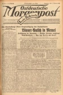 Ostdeutsche Morgenpost, 1932, Jg. 14, Nr. 38