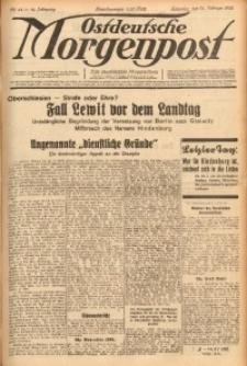 Ostdeutsche Morgenpost, 1932, Jg. 14, Nr. 44
