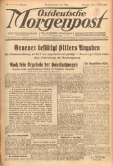 Ostdeutsche Morgenpost, 1932, Jg. 14, Nr. 79