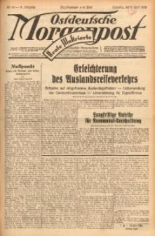 Ostdeutsche Morgenpost, 1932, Jg. 14, Nr. 92