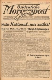 Ostdeutsche Morgenpost, 1932, Jg. 14, Nr. 113