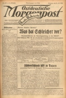 Ostdeutsche Morgenpost, 1932, Jg. 14, Nr. 203