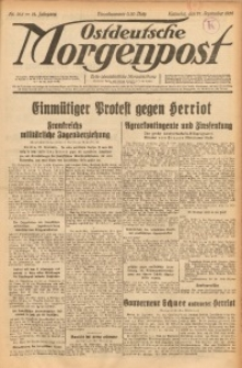 Ostdeutsche Morgenpost, 1932, Jg. 14, Nr. 268