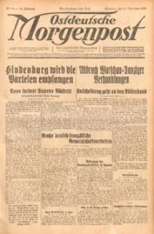 Ostdeutsche Morgenpost, 1932, Jg. 14, Nr. 319