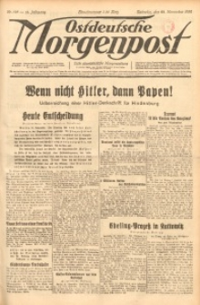 Ostdeutsche Morgenpost, 1932, Jg. 14, Nr. 325