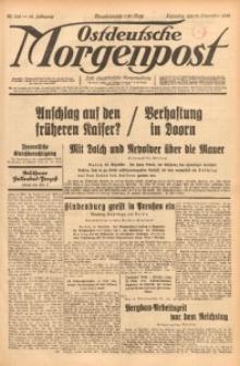 Ostdeutsche Morgenpost, 1932, Jg. 14, Nr. 345