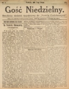 Gość Niedzielny, 1924, nr 4
