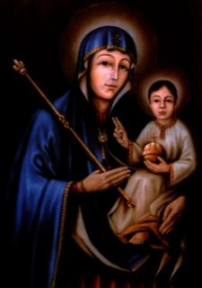 Modlitwa do Najświętszej Bogarodzicy Maryi przed Jej cudownym w Kazimierce obrazem.