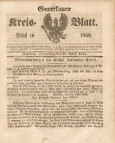 Grottkauer Kreis-Blatt, 1848, Stück 16