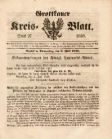 Grottkauer Kreis-Blatt, 1848, Stück 27
