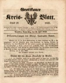 Grottkauer Kreis-Blatt, 1848, Stück 28