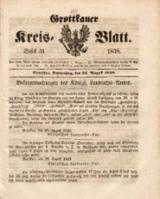 Grottkauer Kreis-Blatt, 1848, Stück 34