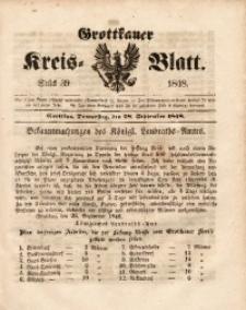 Grottkauer Kreis-Blatt, 1848, Stück 39