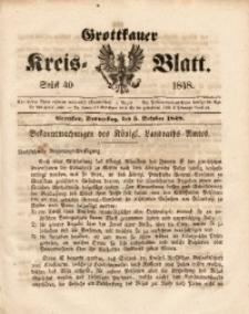 Grottkauer Kreis-Blatt, 1848, Stück 40