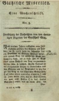 Glätzische Miscellen, 1812, Bd. 1, Nro. 3