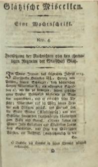 Glätzische Miscellen, 1812, Bd. 1, Nro. 4
