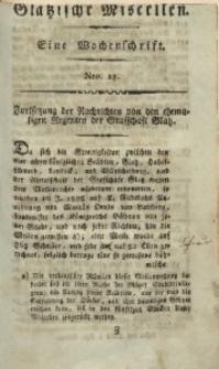 Glätzische Miscellen, 1812, Bd. 1, Nro. 23