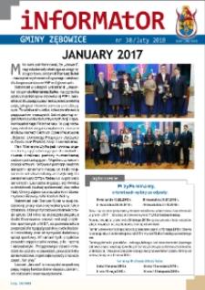 Informator Gminy Zębowice 2018, nr 38.