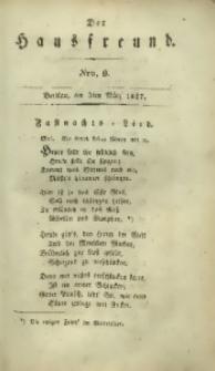 Der Hausfreund, 1827, Jg. 7, Nro. 9