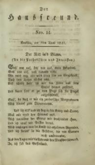 Der Hausfreund, 1827, Jg. 7, Nro. 14