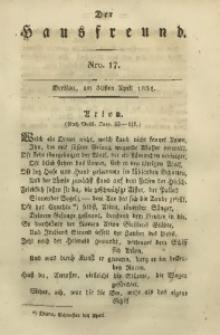 Der Hausfreund, 1831, Jg. 11, Nro. 17