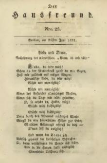 Der Hausfreund, 1831, Jg. 11, Nro. 25