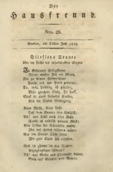 Der Hausfreund, 1831, Jg. 11, Nro. 29
