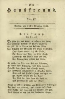 Der Hausfreund, 1831, Jg. 11, Nro. 47