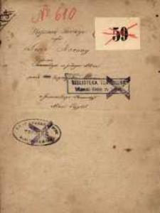 Ryszard Savage czyli Dwie korony. Drama w jednym akcie przez Eugenjusza Moreau z francuzkiego tłumaczył Adam Pajgert
