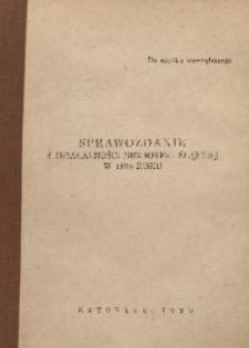 Sprawozdanie z działalności Biblioteki Śląskiej w 1989 roku
