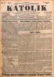 Katolik, 1928, R. 61, nr 5
