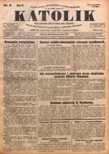 Katolik, 1928, R. 61, nr 6