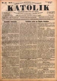 Katolik, 1928, R. 61, nr 11