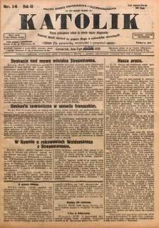 Katolik, 1928, R. 61, nr 14