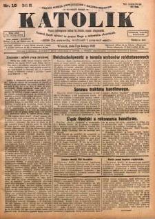 Katolik, 1928, R. 61, nr 16