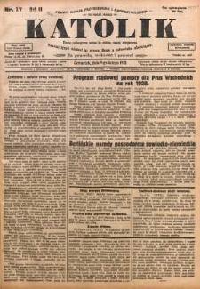 Katolik, 1928, R. 61, nr 17