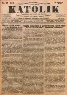 Katolik, 1928, R. 61, nr 41