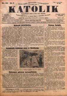 Katolik, 1928, R. 61, nr 63