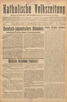 Katholische Volkszeitung, 1936, Jg. 19, Nr. 1