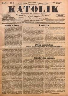 Katolik, 1928, R. 61, nr 71