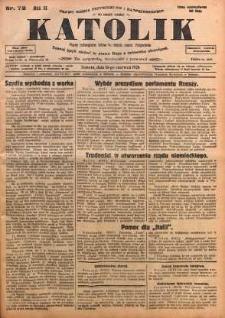Katolik, 1928, R. 61, nr 72
