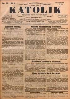 Katolik, 1928, R. 61, nr 73