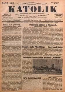 Katolik, 1928, R. 61, nr 78
