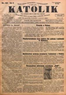 Katolik, 1928, R. 61, nr 83